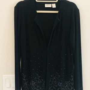 Jacket and skirt. Soft and sparkling!